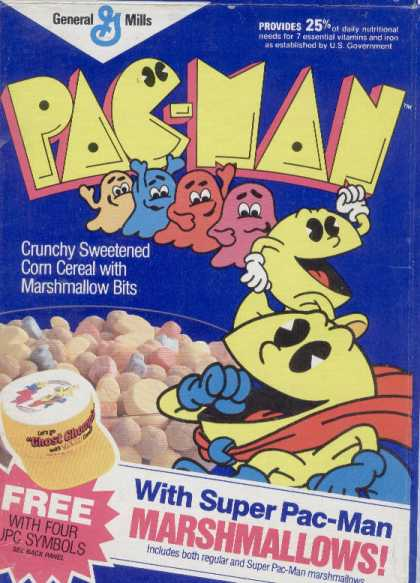 Cereal Boxes - Pac-Man