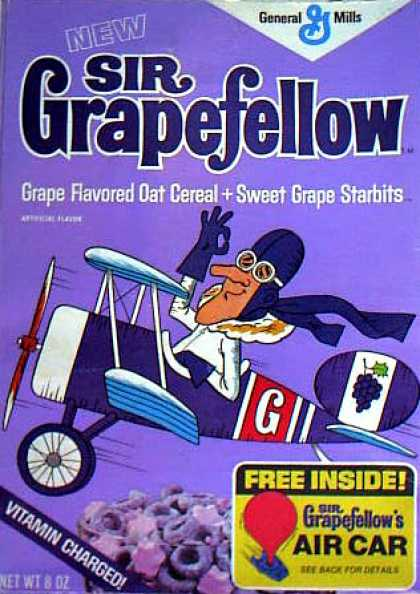 Cereal Boxes - Sir Grapefellow
