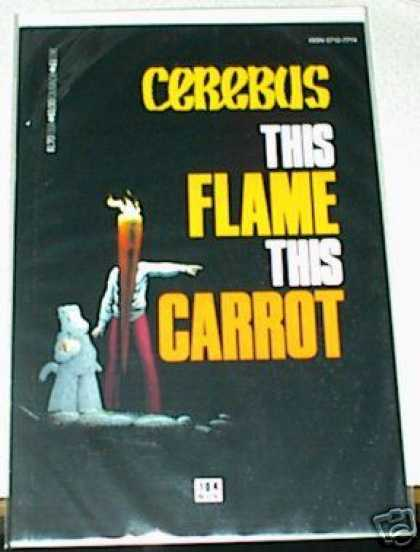 Cerebus 104 - Carrot - Flame - Face - Point - Arms - Dave Sim