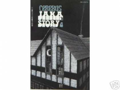 Cerebus 117 - House - Moon - Jaka Story 4 - Smoke - Night - Dave Sim