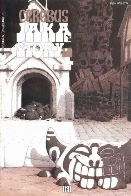 Cerebus 127 - Skulls - Church - Dave Sim
