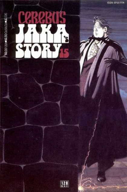 Cerebus 128 - Bricks - Light - Jaka - Bow Tie - Shadow - Dave Sim