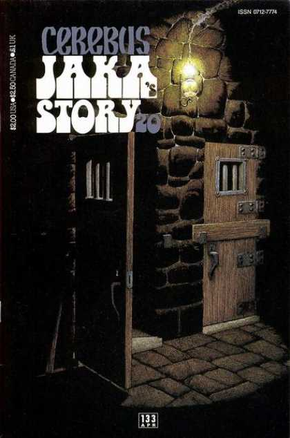 Cerebus 133 - Prison - Dungeon - Jail - Dave Sim