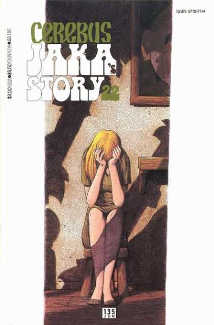 Cerebus 135 - Jaka - Suspense - Mature Content - Abuse - Sadness - Dave Sim