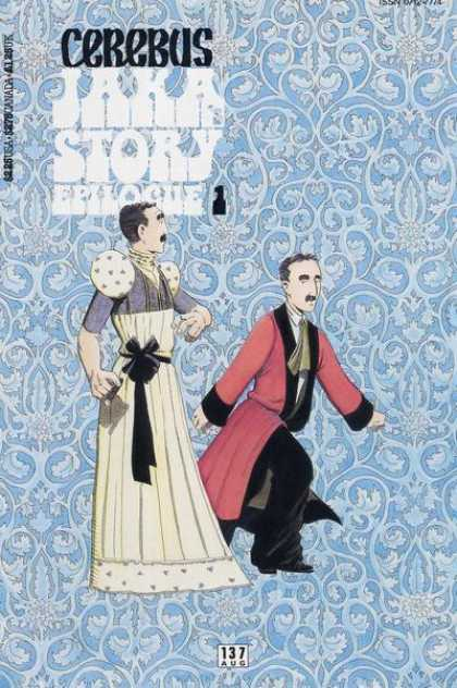 Cerebus 137 - Jaka Story Epilogue - Cigar - Robe - Dress - Bow - Dave Sim