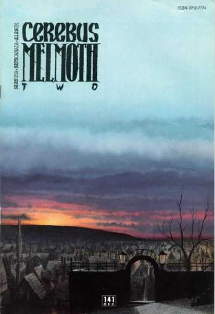 Cerebus 141 - Ghost Town - Two - Sun Set - Dead Trees - Abandoned - Dave Sim