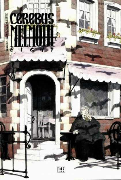 Cerebus 147 - Meemoth - Eight - Chair - 147 Jun - Birds - Dave Sim