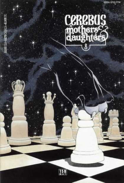 Cerebus 158 - Chess - Space - Chessboard - Mothers And Daughters 8 - 225 Us - Dave Sim