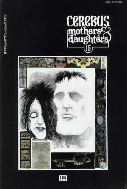 Cerebus 165 - Mothers U0026 Daughters - White Eyes - 165 - Key - Ghost - Dave Sim