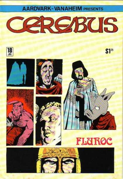 Cerebus 18 - Man - People - Guy - Dog - Horse - Dave Sim