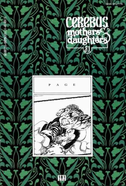 Cerebus 181 - Sketch - Green - Plants - Foliage - Family - Dave Sim