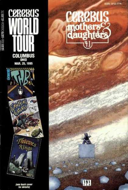 Cerebus 191 - World Tour - Columbus Ohio - Mothers U0026 Daughters - March 25 1995 - Thieves And Kings - Dave Sim