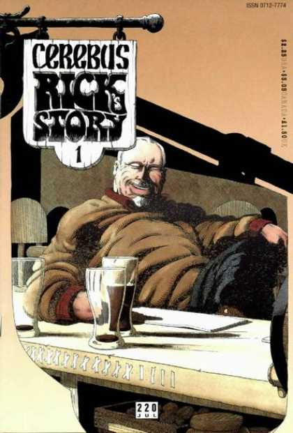 Cerebus 220 - Rick - Beers - Couch - Smile - Paper - Dave Sim