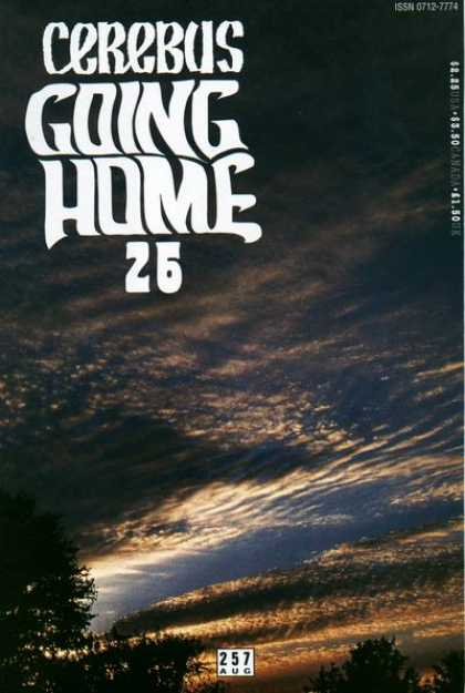 Cerebus 257 - Going Home - 26 - Trees - 257 - August
