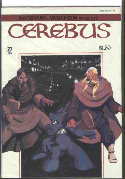 Cerebus 27 - Super Fight - Serious Fight - War With Hammer - Super Comic - You And Me - Dave Sim