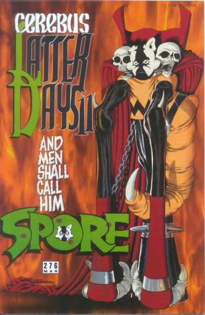 Cerebus 276 - Latter Days 11 - Spore - Skull - Red Cape - Claw