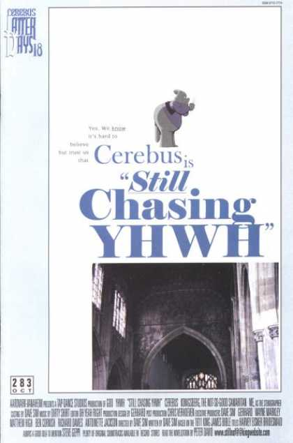 Cerebus 283 - Cathedral - Yhwh