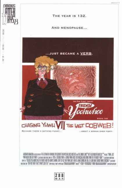 Cerebus 288 - Fat - Menopause - Just Became A Verb - Yoohwhoo - Chasing Yhwh
