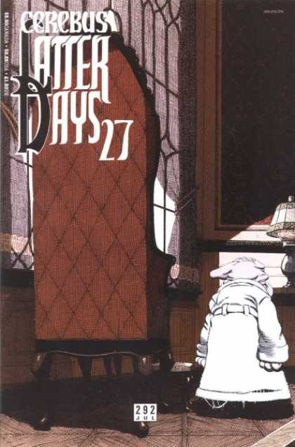 Cerebus 292 - Later Days 27 - 292 Jul - Big Door - Walking - Moping