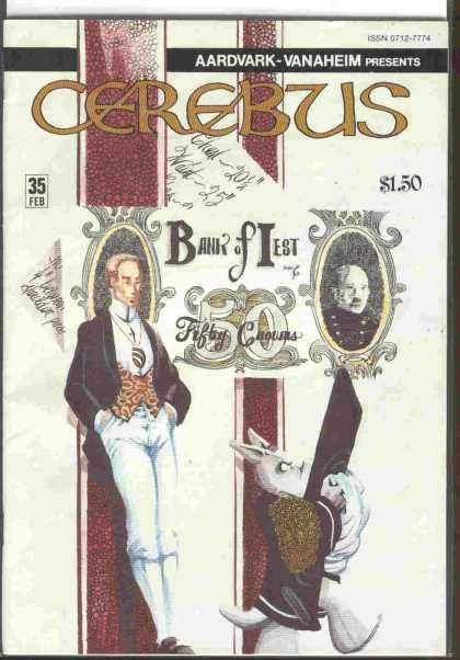 Cerebus 35 - Foreign Comic - Volume 35 - Bank Of Iest - Fifty - Man In Ancien Wear - Dave Sim