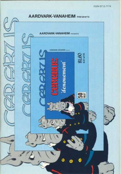 Cerebus 50 - Denouement - Aardvark Vanaheim - Pig - Image Shrinking - May - Dave Sim