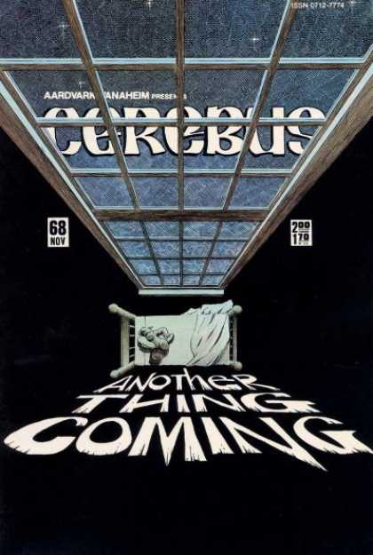 Cerebus 68 - Bed - Window - Another Thing Coming - Aardvard Manaheim - 68 Nov - Dave Sim