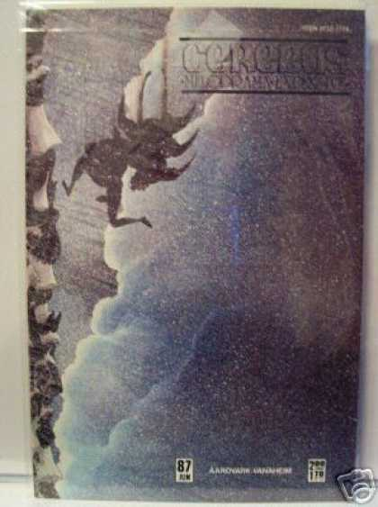 Cerebus 87 - Clouds - Falling - Snow - Cliff - Darkness - Dave Sim
