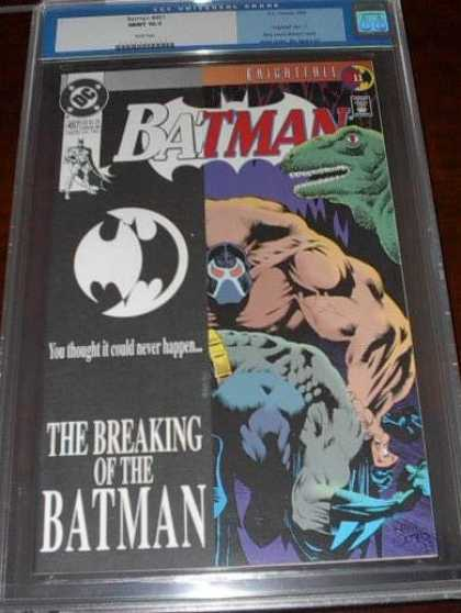 CGC 10 Comics - Batman #497 (CGC) - Collectors - Batman - Dinosaur - Breaking - Dc