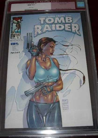 CGC 10 Comics - Tom Raider (CGC) - Tomb Raider - Lara Croft - Big Guns - Weapons - G-string