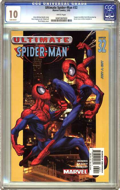 CGC 10 Comics 19 - Spiderman The Great - Im Seeing Double - Therestwo - Good Vs Evil - Im Seeing Myself For The First Time