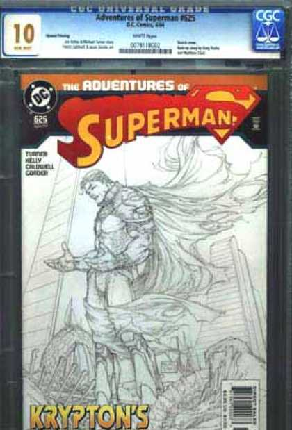 CGC 10 Comics - Adventures of Superman #625 (CGC)