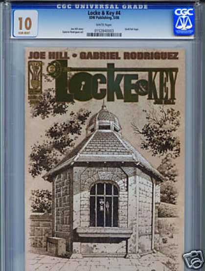 CGC 10 Comics - Locke & Key (CGC) - Locke And Key - Joe Hill - Gabriel Rodriguez - House - Girl