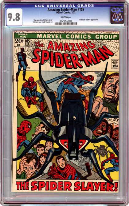 CGC Graded Comics - Amazing Spider-Man #105 (CGC)