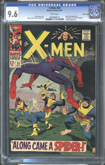 CGC Graded Comics - X-Men #35 (CGC)