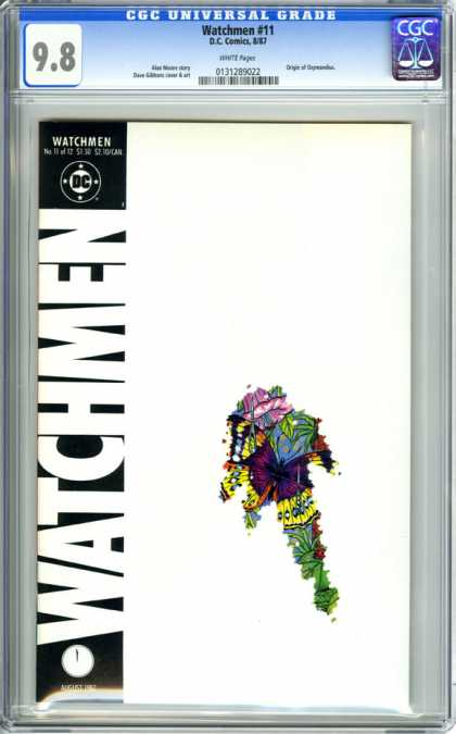 CGC Graded Comics - Watchmen #11 (CGC) - Watchmen - Flower - August - White Backgroud - Dc