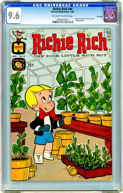 CGC Graded Comics - Richie Rich #44 (CGC)