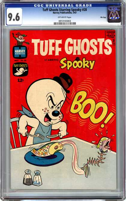 CGC Graded Comics - Tuff Ghosts Starring Spooky #28 (CGC)
