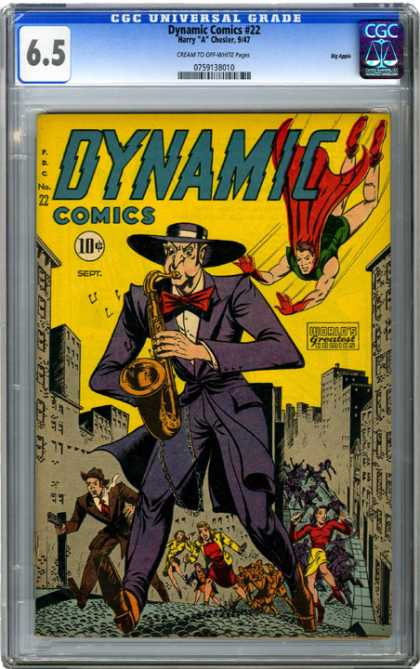 CGC Graded Comics - Dynamic Comics #22 (CGC)