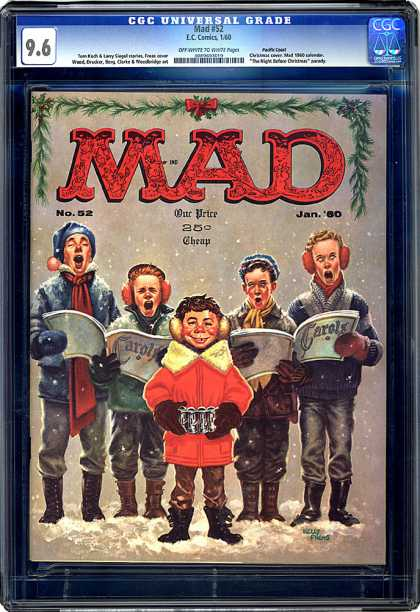 CGC Graded Comics - Mad #52 (CGC)