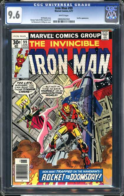 CGC Graded Comics - Iron Man #99 (CGC)