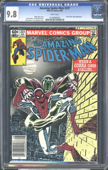 CGC Graded Comics - Amazing Spider-Man #231 (CGC)