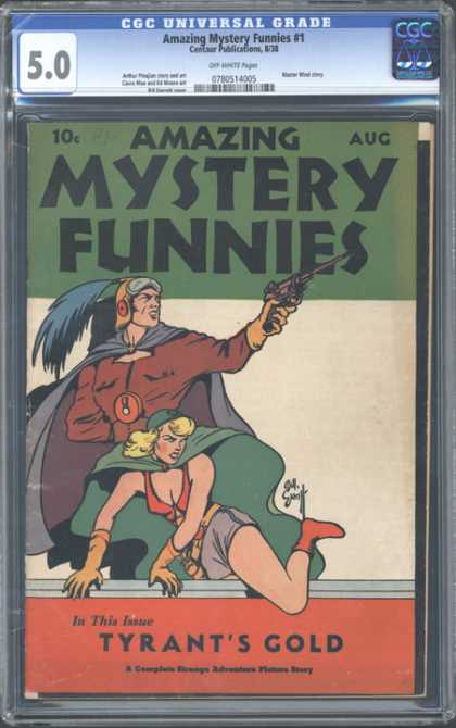 CGC Graded Comics - Amazing Mystery Funnies #1 (CGC)