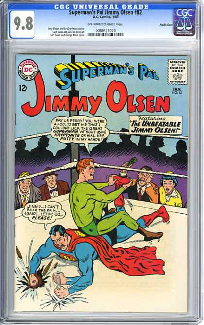CGC Graded Comics - Superman's Pal Jimmy Olsen #82 (CGC)