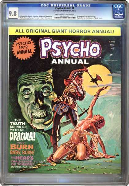 CGC Graded Comics - Psycho Annual #1 (CGC)