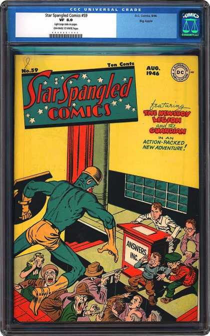 CGC Graded Comics - Star Spangled Comics #59 (CGC)