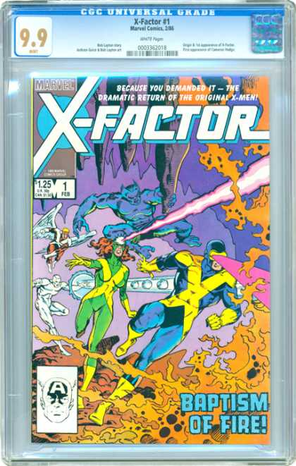 CGC Graded Comics - X-Factor #1 (CGC)