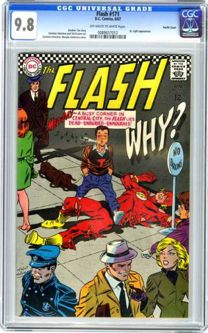 CGC Graded Comics - Flash #171 (CGC)