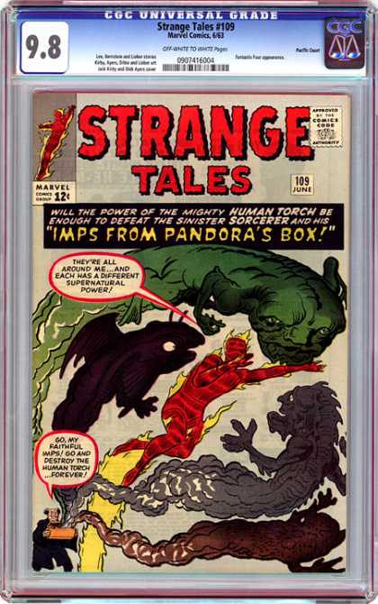 CGC Graded Comics - Strange Tales #109 (CGC)