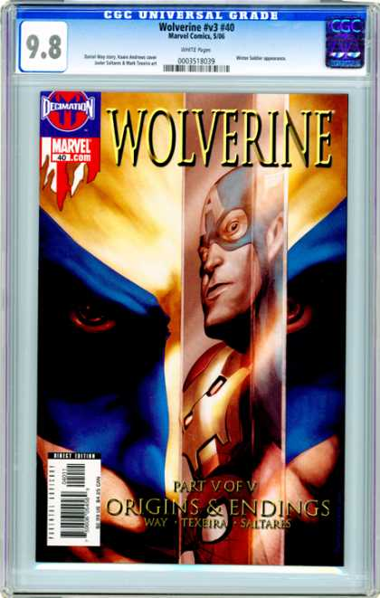CGC Graded Comics - Wolverine #v3 #40 (CGC)