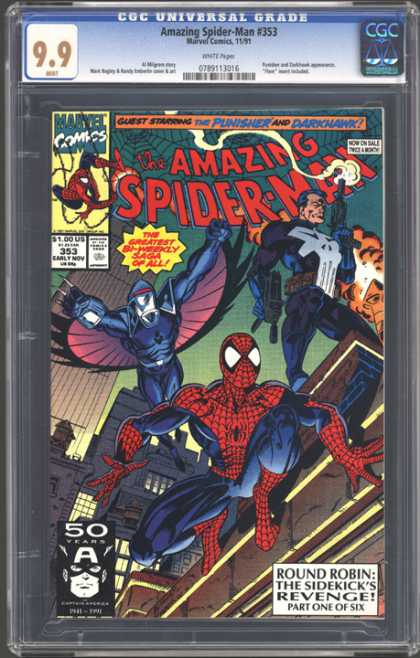 CGC Graded Comics - Amazing Spider-Man #353 (CGC)